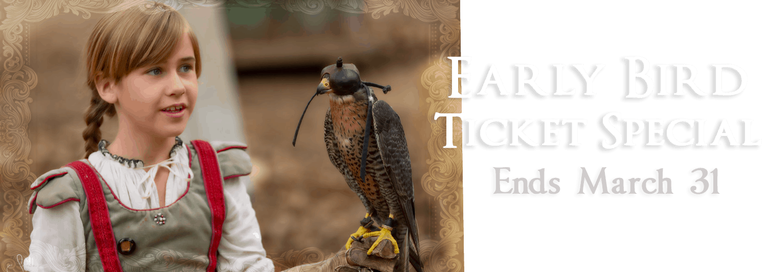 Early Bird Ticket Special Ends March 31